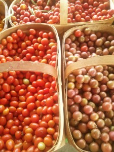 glorious cherry tomatoes