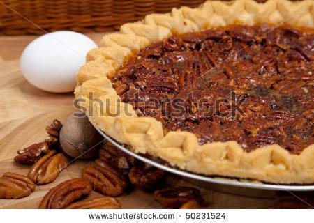 pecan pie - public domain image