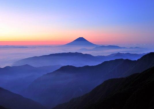 fuji dawn