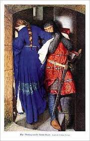 Meeting on the Turret Stairs, Sir Frederic Burton