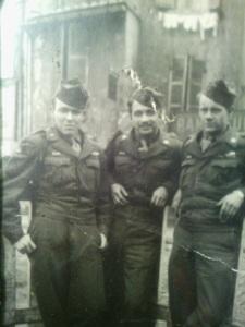 copyright Kanzensakura - my father, far left, Paris, 21st birthday