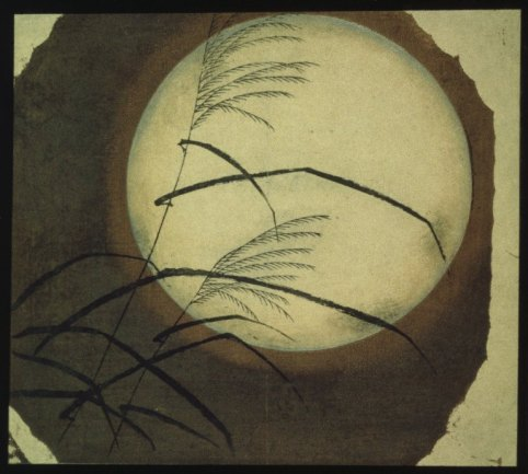 Andō Hiroshige 1797 – 1858 Full Moon and Reeds