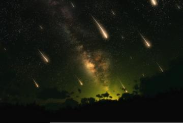 Ursid meteor showers public domain photo