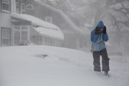 public domain file photo Winter Storm Jonas