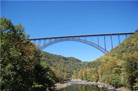 free public domain image - New River Gorge