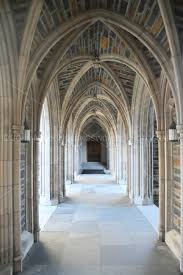 corridor at Duke Chapel, Duke University