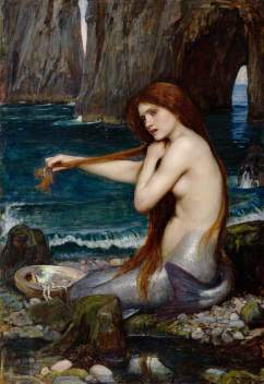 Waterhouse, John William; A Mermaid; Royal Academy of Arts