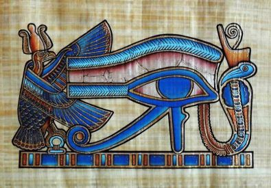 tomb detail - eye of Horus