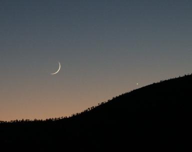 new moon - public domain photo