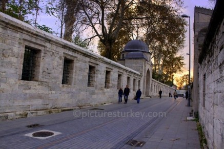 outside of a seraglio, Topkapi Palace - Getty Image